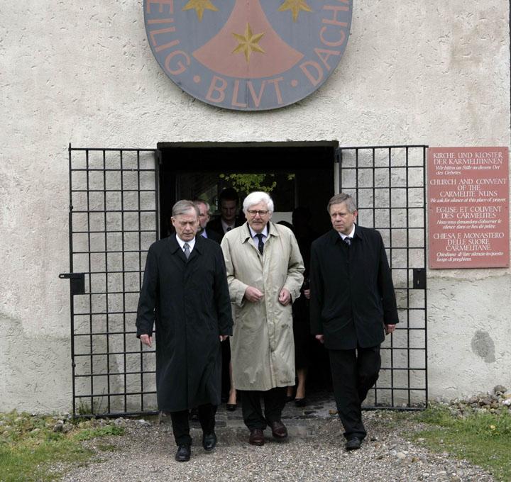 Festakt zum 65. Jahrtag der Befreiung des Konzentrationslagers Dachau am 2. Mai 2010