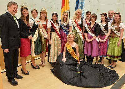 Königinnen im Landtag