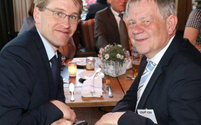 Eigene PM: Freller trifft Schleswig-Holstein-Wahlsieger Daniel Günther auf Fraktionsvorsitzendenkonferenz der Union