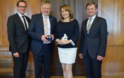 Eigene PM: Mit besten Grüßen aus Nürnbergs Partnerstadt