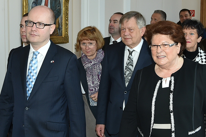 Karl Freller trifft den rumänischen Ministerpräsidenten – Gespräch mit Dacian Ciolos