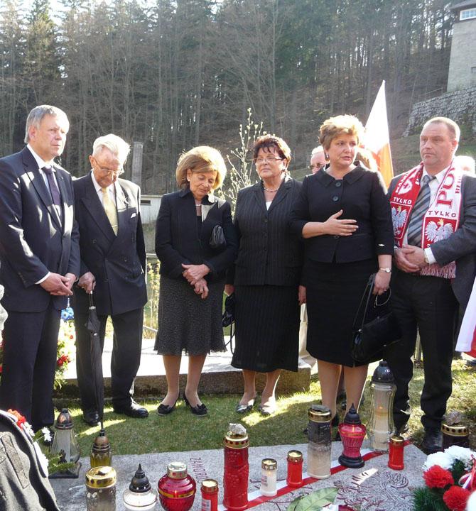Gedenken an die polnischen KZ-Opfer von Flossenbürg