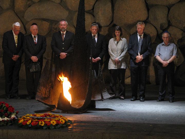 Yad Vashem - zentrale Holocaust-Gedenkstätte in Jerusalem