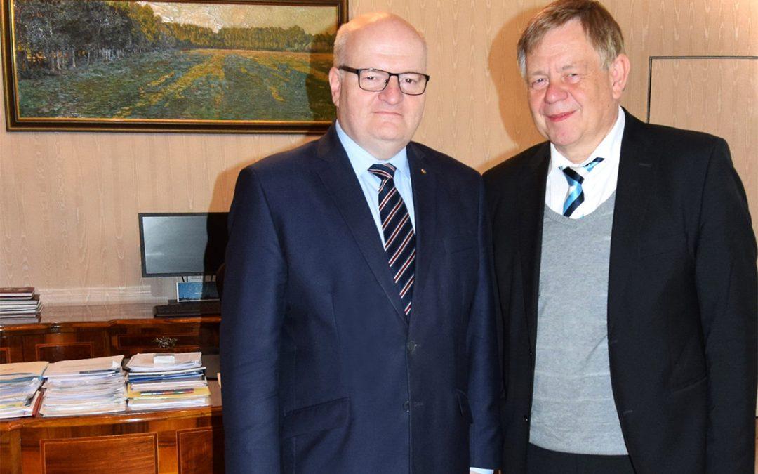 Karl Freller besuchte den Kulturminister der Tschechischen Republik