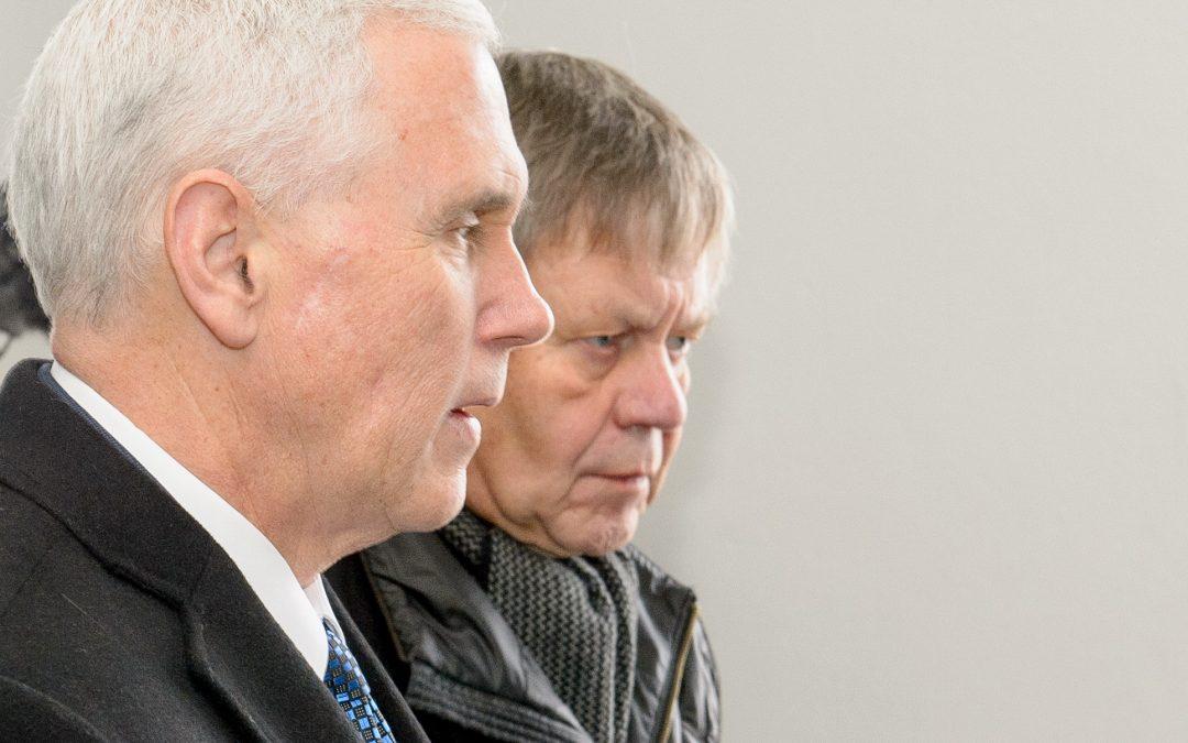 US-Vizepräsident Mike Pence besuchte die KZ-Gedenkstätte Dachau