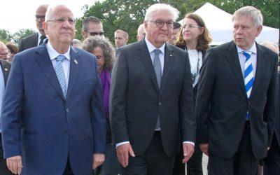 Eigene PM: Freller begrüßte Rivlin und Steinmeier in Dachau