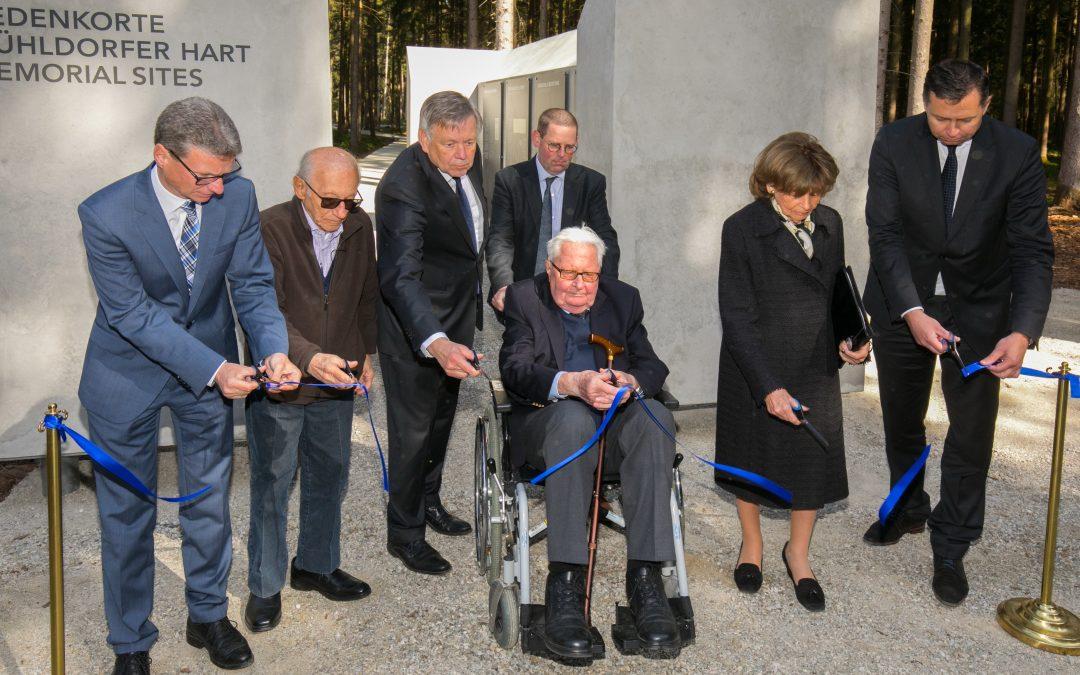 Eröffnung der KZ-Gedenkstätte Mühldorfer Hart