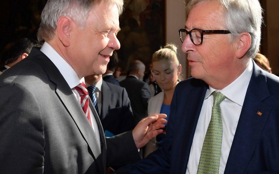Fraktionsvize Karl Freller traf den Präsidenten der Europäischen Kommission