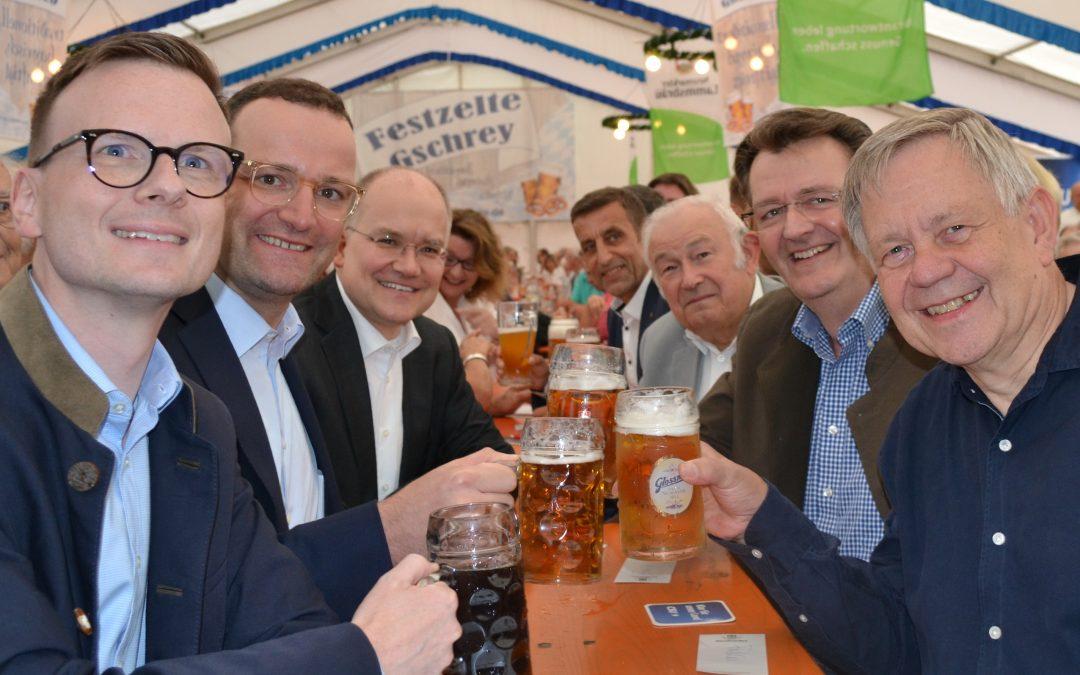 Gesundheitsminister Jens Spahn zu Besuch in Langwasser