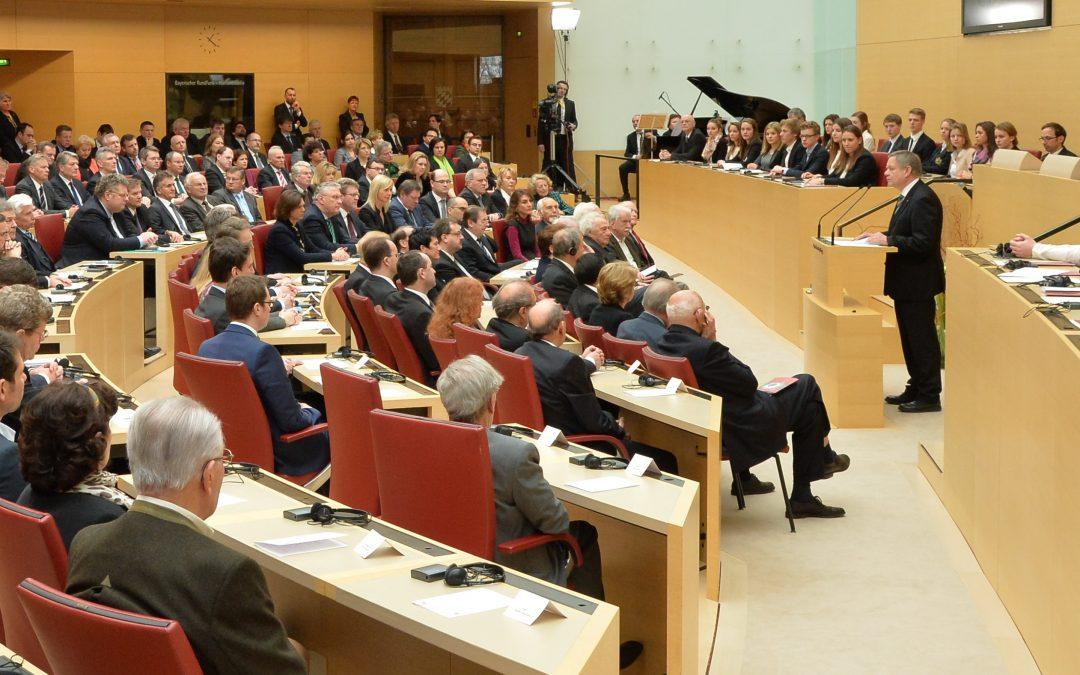 Freller von CSU-Fraktion für das Amt des 1. Landtagsvizepräsidenten nominiert