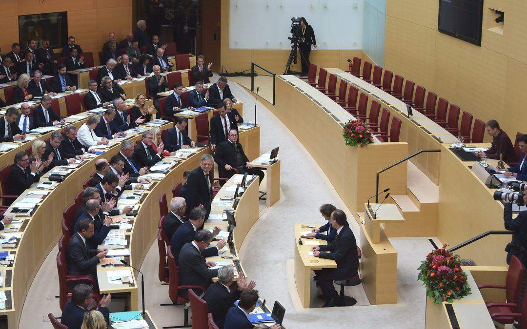 MdL Karl Freller wurde zum Ersten Vizepräsidenten des Bayerischen Landtags gewählt