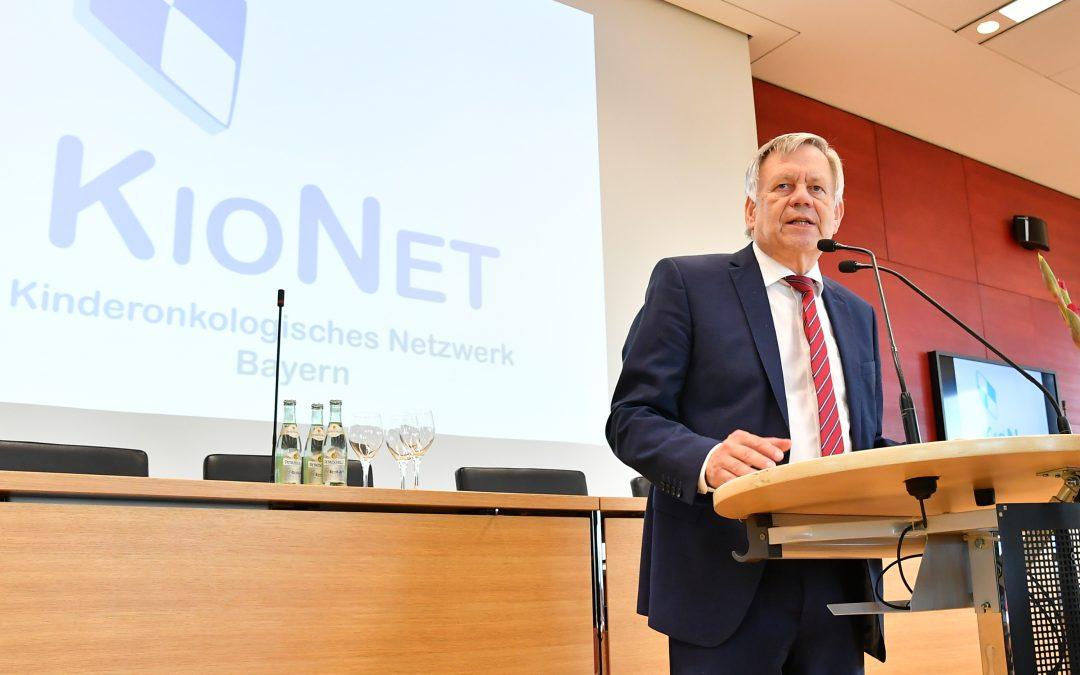 """Heimatnahe Therapie für krebskranke Kinder – Freller bei KIONET-""""Kick-Off"""" im Bayerischen Landtag"""
