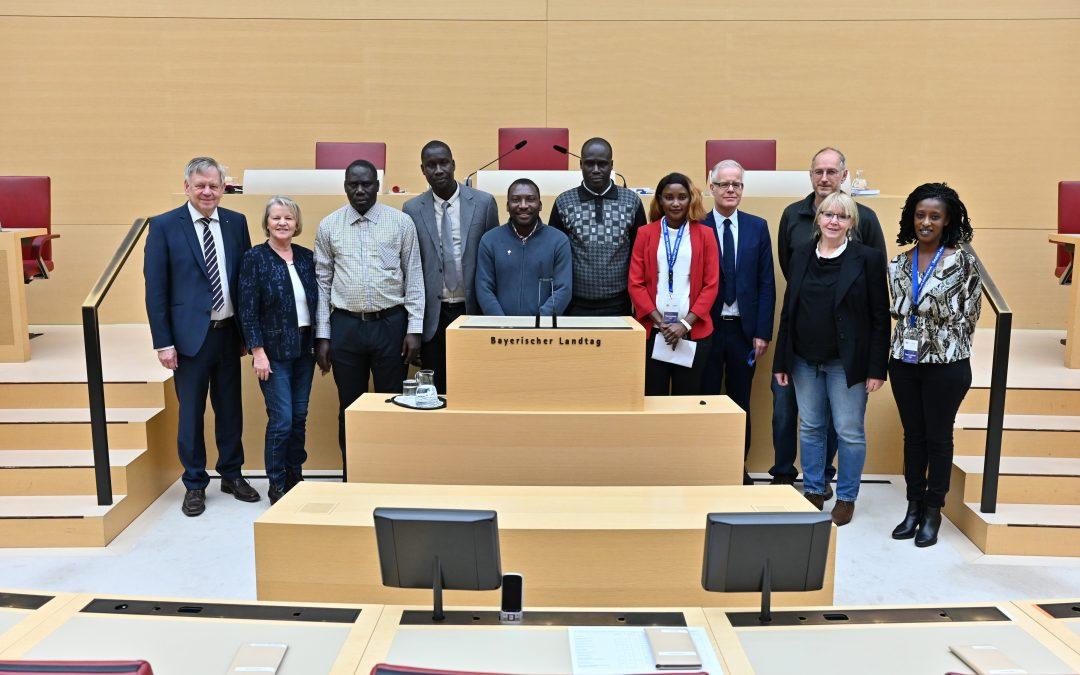Freller empfängt Delegation aus Gossas im Landtag