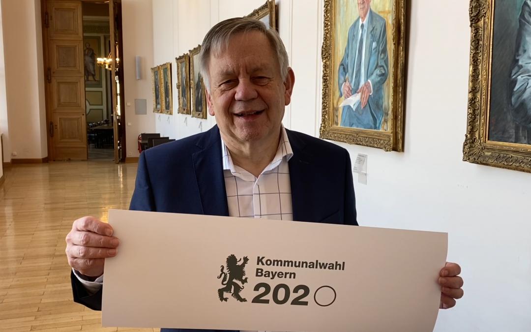 Aufruf zur Kommunalwahl 2020 in Bayern