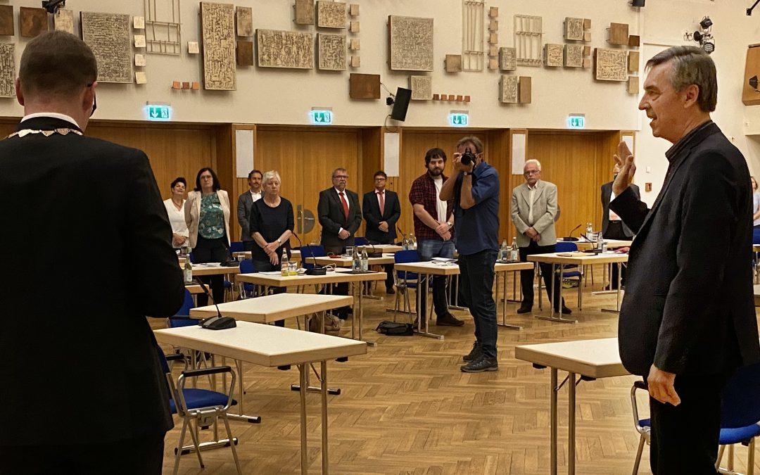 Emil Heinlein neuer CSU-Bürgermeister in Schwabach