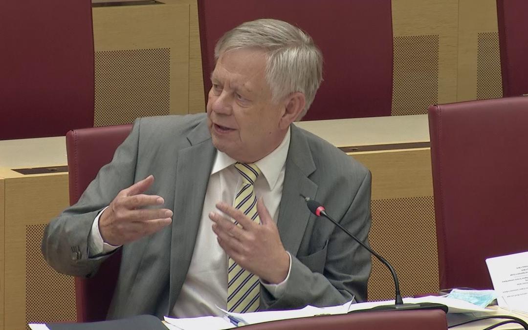 Landtagsvizepräsident Karl Freller zu Bayerns Corona-Teststrategie [Video]