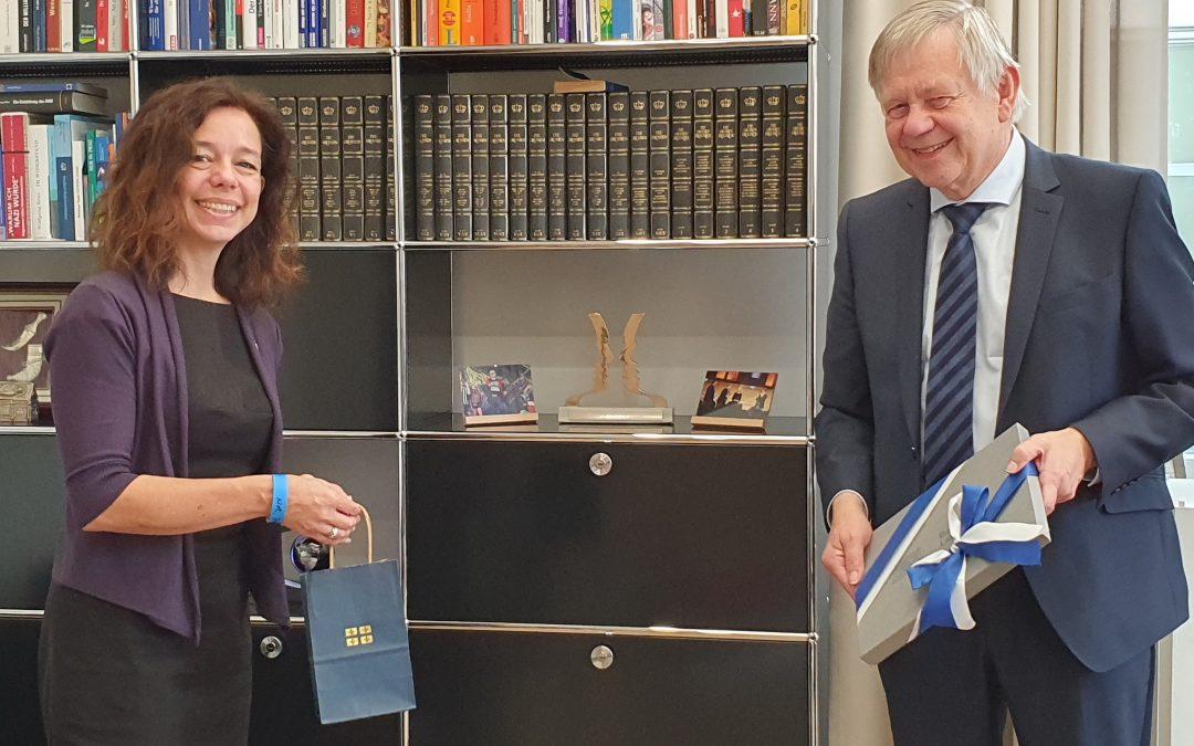 Deutsch-kanadischer Austausch – Freller trifft Quebecs Generaldelegierte Valentin