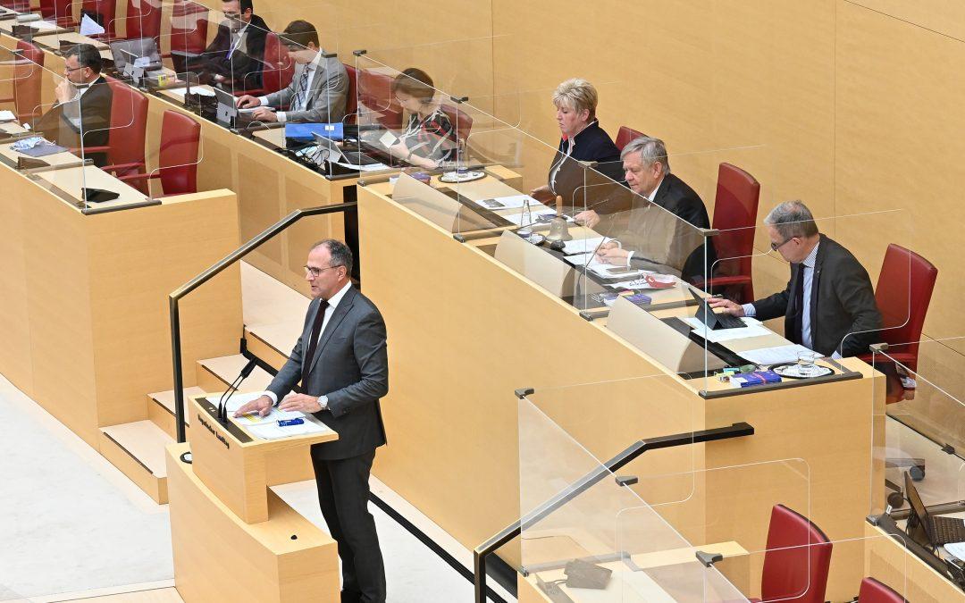 Sichtbar, aber geschützt – Plexiglas im Landtag