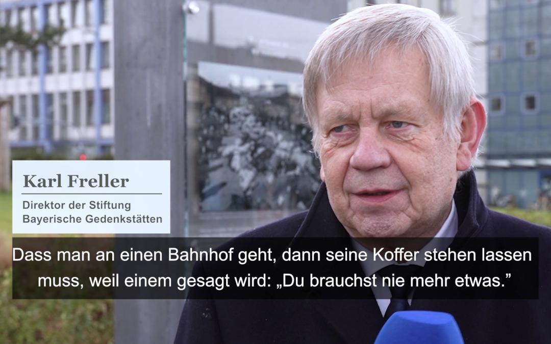 Gedenkakt für die Opfer des Nationalsozialismus in Würzburg